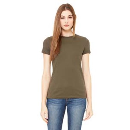 6004 Be 6004 Lad 4.2 Oz Perfect Tee Army S - image 1 de 1