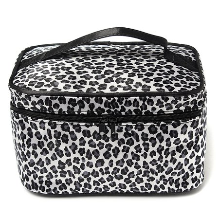 Portable Women Cosmetic Bag Toiletry Wash Organizer Makeup Case Carry Tote Container Holder Storage Outdoor