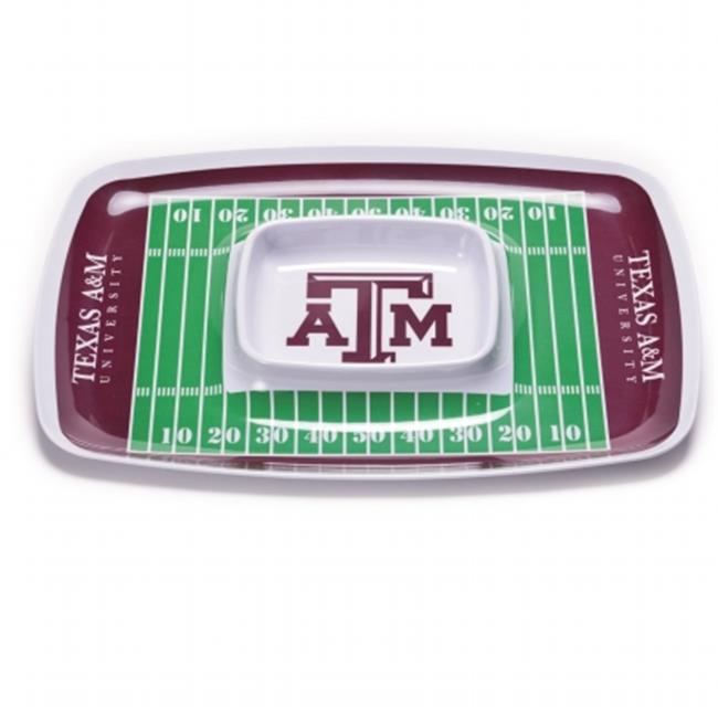 BSI PRODUCTS 32030 Chip and Dip Tray - Texas AandM Aggies