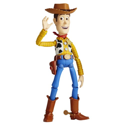 Walt Disney Toy Story: SCI-FI Revoltech No. 010 Woody Action Figure by