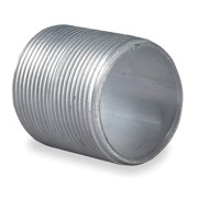 "Nipple,  Aluminum,  Male to Male Connection,  1-1/4"" Conduit Size"