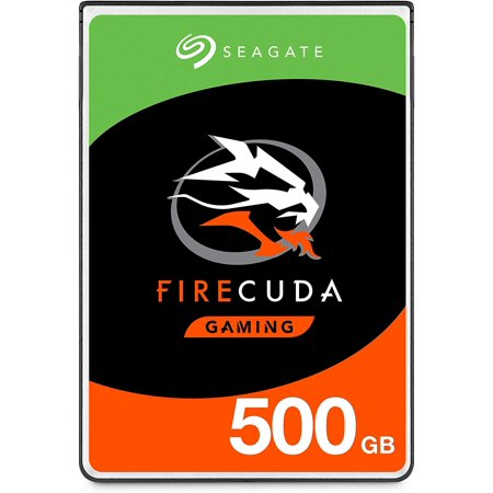 Seagate FireCuda 500GB Solid State Hybrid Drive Performance SSHD – 2.5 Inch SATA 6Gb/s Flash Accelerated for Gaming PC Laptop (ST500LX025) Sata 2.5 N And Flash