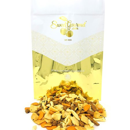 Oriental Rice Snacks - SweetGourmet Oriental Rice Crackers | Asian Rice Cracker Snack Mix | No Artificial Colors, All Natural | Kosher | 3 pounds