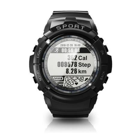 S816 IP68 Waterproof Sport Smart Watch Fitness tracker Smartband Dynamic Heart Rate Compass Stopwatch Alarm Clock for Men Women