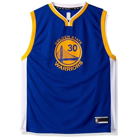8db527cfd Outerstuff Stephen Curry Golden State Warriors  30 Youth Road Jersey Blue ( Youth X-Large 18 20) - Walmart.com