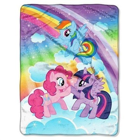 - My Little Pony 'Rainbow' Throw Blanket