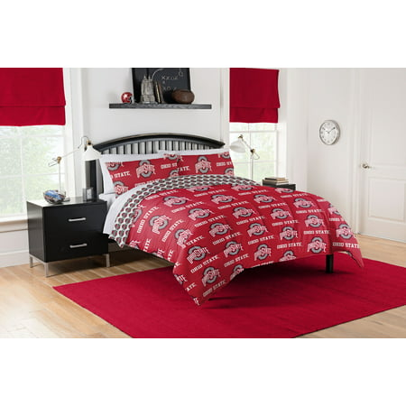 NCAA Ohio State Buckeyes Bed in a Bag Set