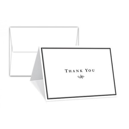 Superfine Printing Inc 4.5 x 6 Inch 25 Thank You Greeting Cards with 25 Envelopes - Halloween Thank You Gifts