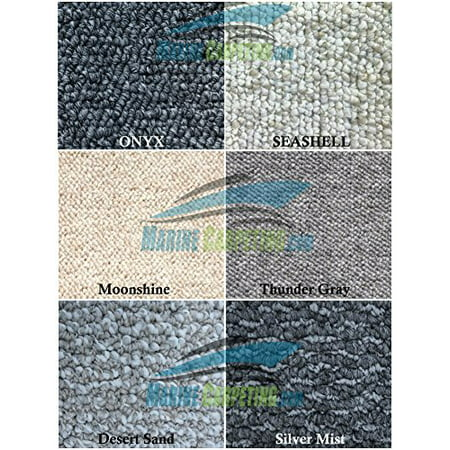 Sea Ray 185 Bowrider - 1997-2002 Sea Ray 230 Bowrider (Standard) 3-Piece Berber Replacement Carpet Set