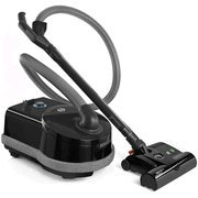 Sebo Airbelt D4 Black Premium Canister Vacuum Cleaner with ET-1 Powerhead and Bare Floor Brush w/ Free Shipping!