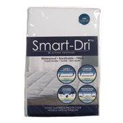 Living Textiles Smart-Dri Waterproof Crib Mattress Protector