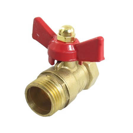 Unique Bargains Water Gas Flow Control M/F 1/2