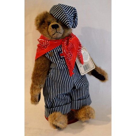 Boyds Bear Elmer O. Bearroad Bear Investment Collectible, The Archive Collection By Boyds Bears