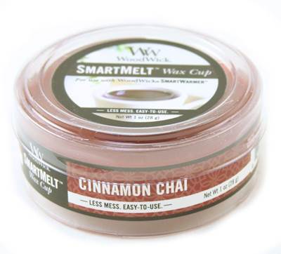 CINNAMON CHAI SmartMelt Scented Wax Cup by WoodWick