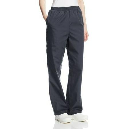 0a2aeb120ee cherokee - cherokee women's workwear scrubs pull-on pant (size 2x-5x),  pewter, 2x-large - Walmart.com