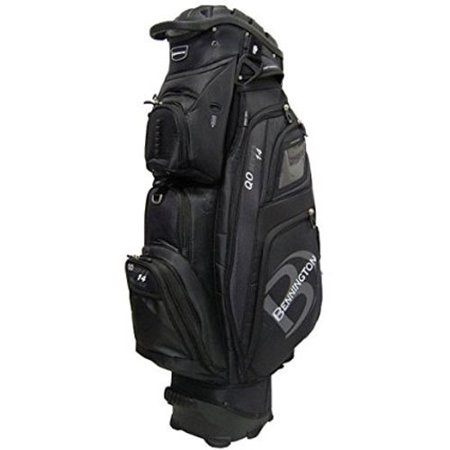 Bennington QO-14 Quiet Organizer Golf Cart Bag - Grey