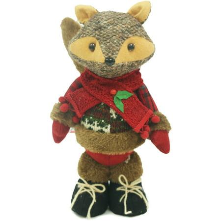 Holiday Time Christmas Decor 11 Woodland Fox Home Decor