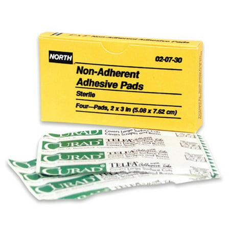 - Honeywell North Gauze Pad, Sterile, White, Unitized, PK4 Latex-Free White 020730