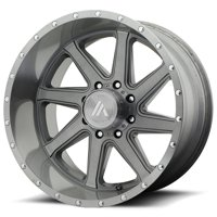 "Asanti Off Road AB814 Windmill 22x12 8x6.5"" -40mm Brushed Wheel Rim 22"" Inch"