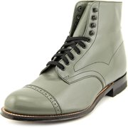 Stacy Adams Madison 00015 Men W Cap Toe Leather Gray Boot