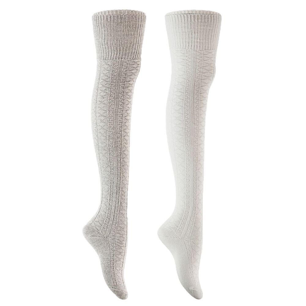 AS/_ Leopard Print Breathable Cotton Women Elastic Middle Tube Crew Socks Splendi