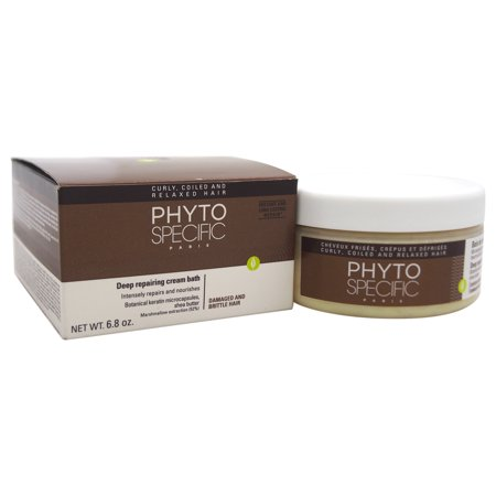Phyto Phytospecific Deep Repairing Cream Bath - Damaged & Brittle Hair, 6.8 Oz