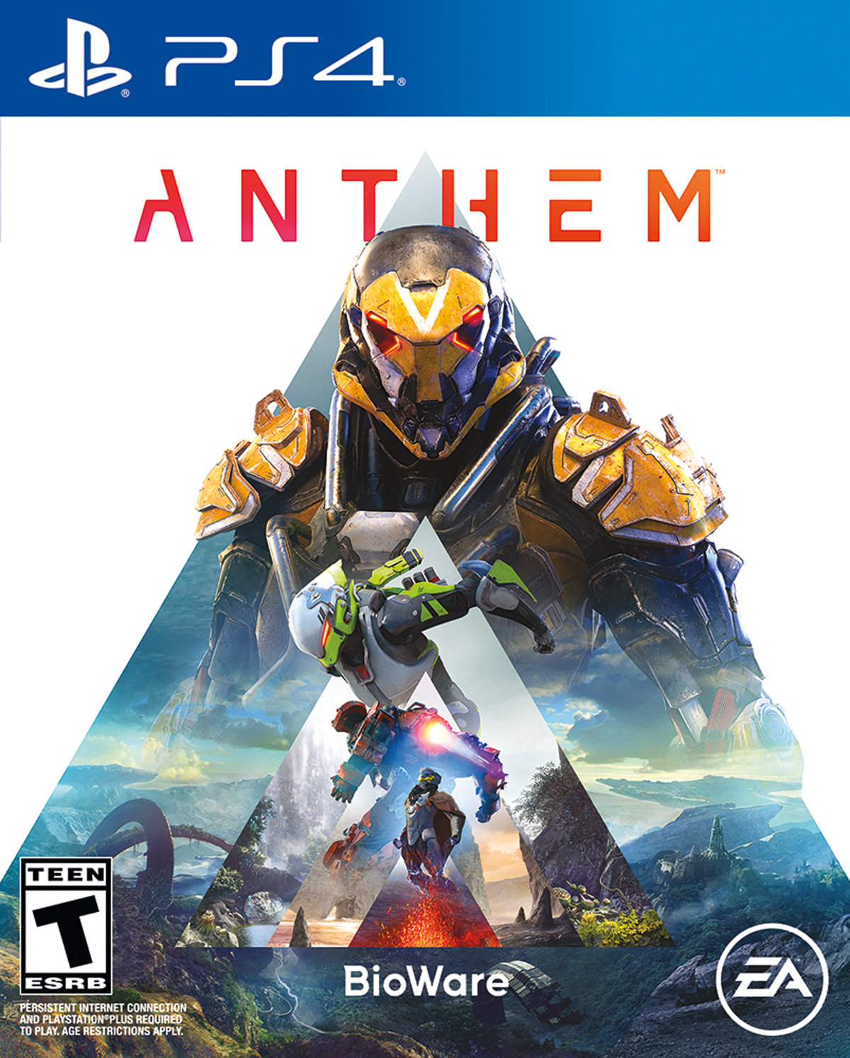Anthem, Electronic Arts, PlayStation 4, 014633369960