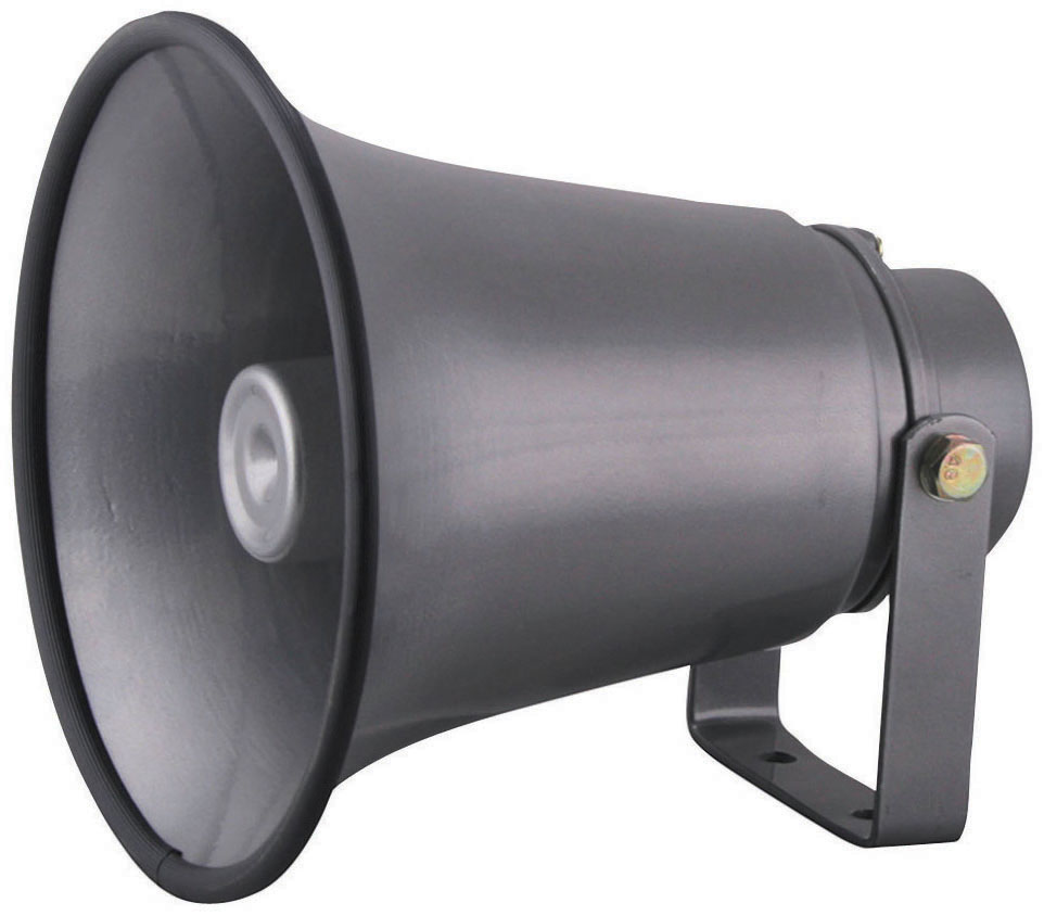 "Outdoor PA Horn Speaker Indoor 6"" Portable PA Speaker with 8 Ohms"