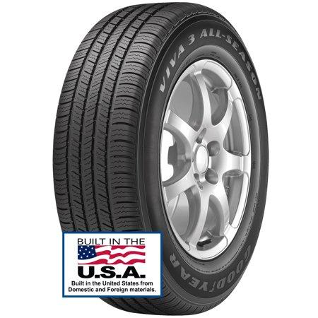 Tailgate Tire (Goodyear Viva 3 All-Season Tire 225/55R17 97H)