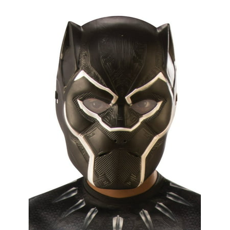 Marvel Black Panther Movie Black Panther Child 1/2 Mask (Halloween The Movie Mask Origin)