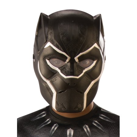 Marvel Black Panther Movie Black Panther Child 1/2 Mask](Pig Masks For Kids)