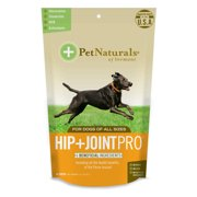 Pet Naturals of Vermont Hip + Joint PRO, Daily Hip and Joint Supplement for Large Dogs, 60 Bite-Sized Chews