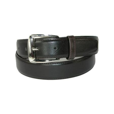 Men's Leather 1 1/4 inch Basic Dress (Genuine Leather White Belt)