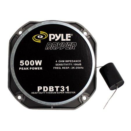 "4) NEW PYLE PDBT31 1.5"" 2000W 4-Ohm Heavy Duty Titanium Super Car Audio Tweeters - image 4 of 7"