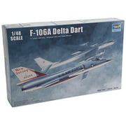 Trumpeter US F106A Delta Dart Aircraft Model Kit (1/48 Scale) Multi-Colored