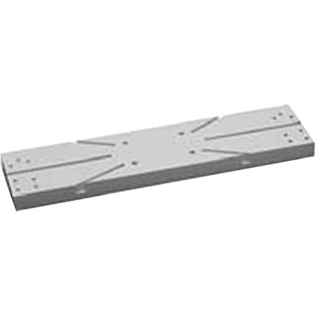 SeaDog 326599 Fillet Table Rail Mount Adapter Plate with Hardware, 1/4