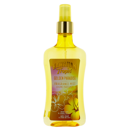 - Golden Paradise by Hawaiian Tropic For Women Fragance Mist Spray 8.4oz