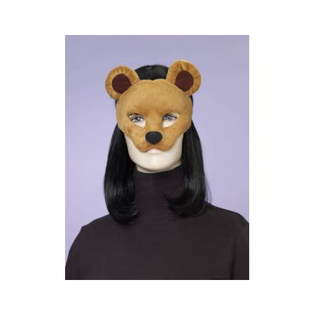 ANIMAL MASK-BEAR W/ELASTIC for $<!---->