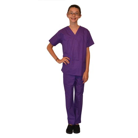 Purple Kids Scrubs by My Little Doc - Doces Para Festa Halloween