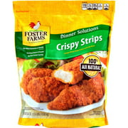Foster Farms Fritters With Rib Meat Crispy Strips Chicken Breast Strips, 24 oz