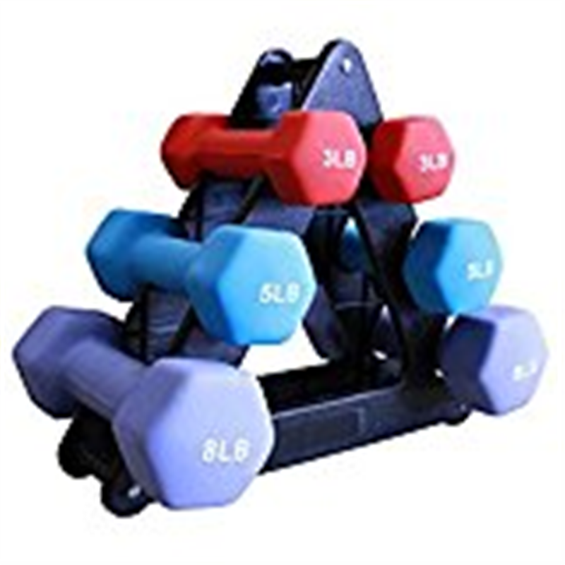 Amber Sporting Goods SDNS-32 32lb Neoprene Dumbell Set
