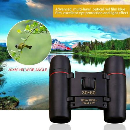 OUTAD 30x60 HD Binoculars Wide Angle 126m/1000m Night Vision Travel Binoculars - image 6 of 6