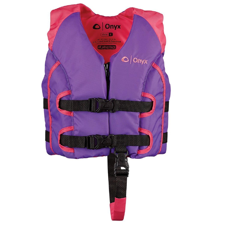Onyx All Adventure Child Vest - Pink/Purple