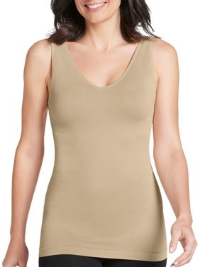 Jockey Life Women's Slimming Seam Free Tank Top
