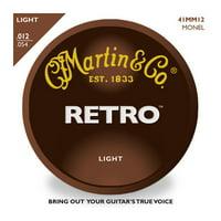 Martin Retro Monel Light Gauge Acoustic Strings