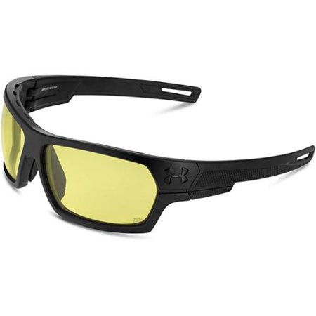 5e740f8f7e8 ... Under Armour Battlewrap Sunglasses Satin Black Yellow Walmart com