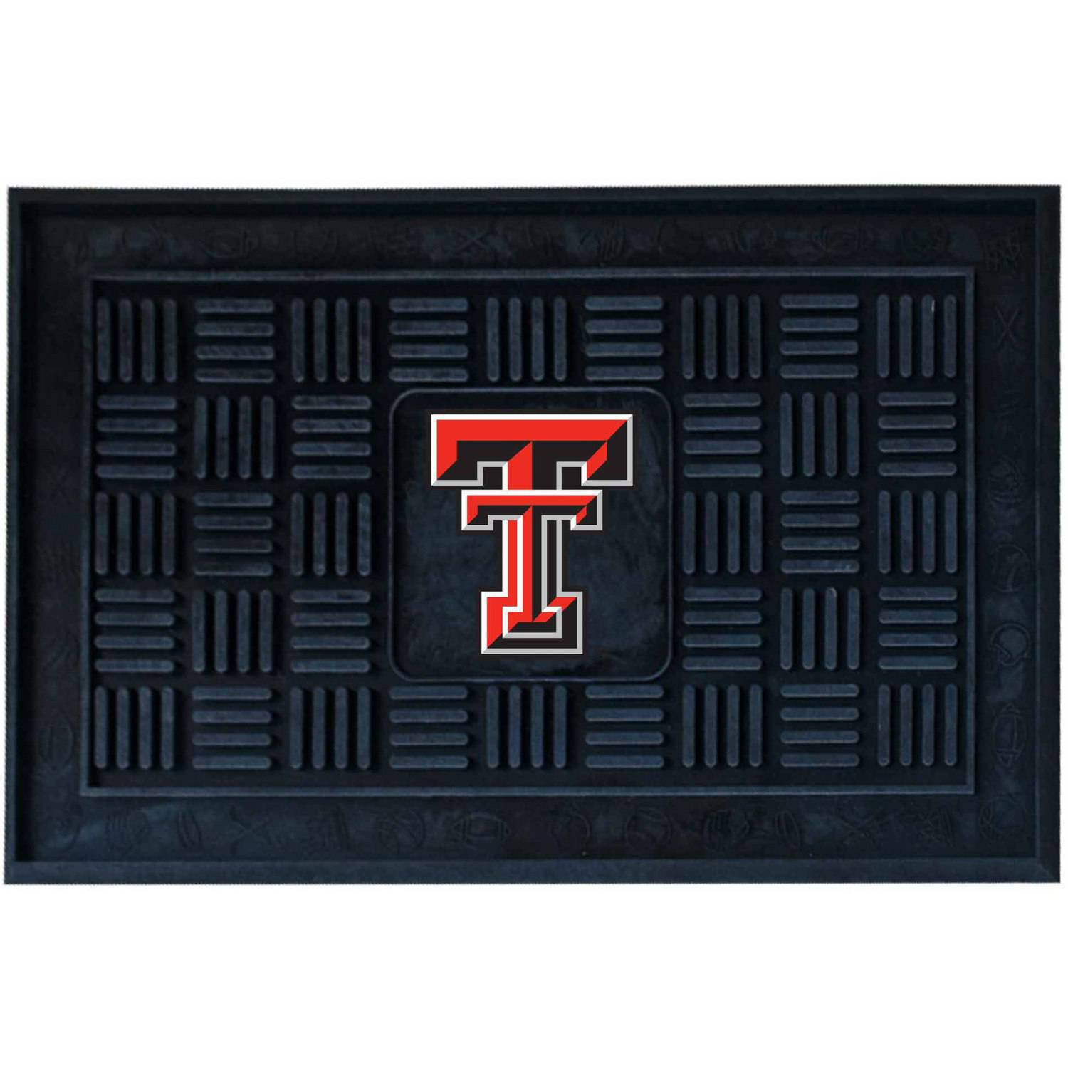 Texas Tech University Medallion Door Mat