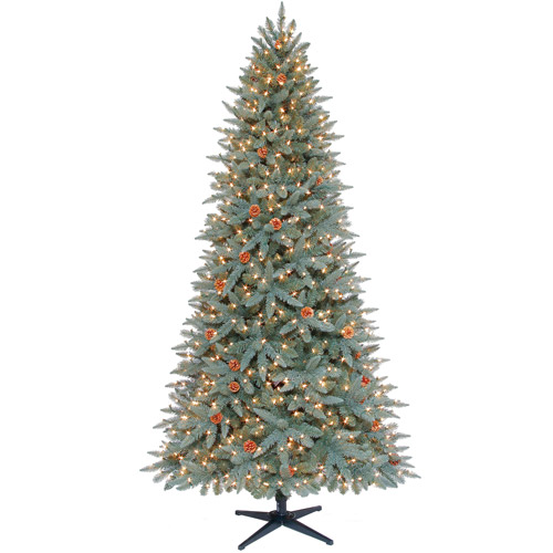 Holiday Time Pre-Lit 7.5' Himalayan Artificial Christmas Tree, Clear Lights