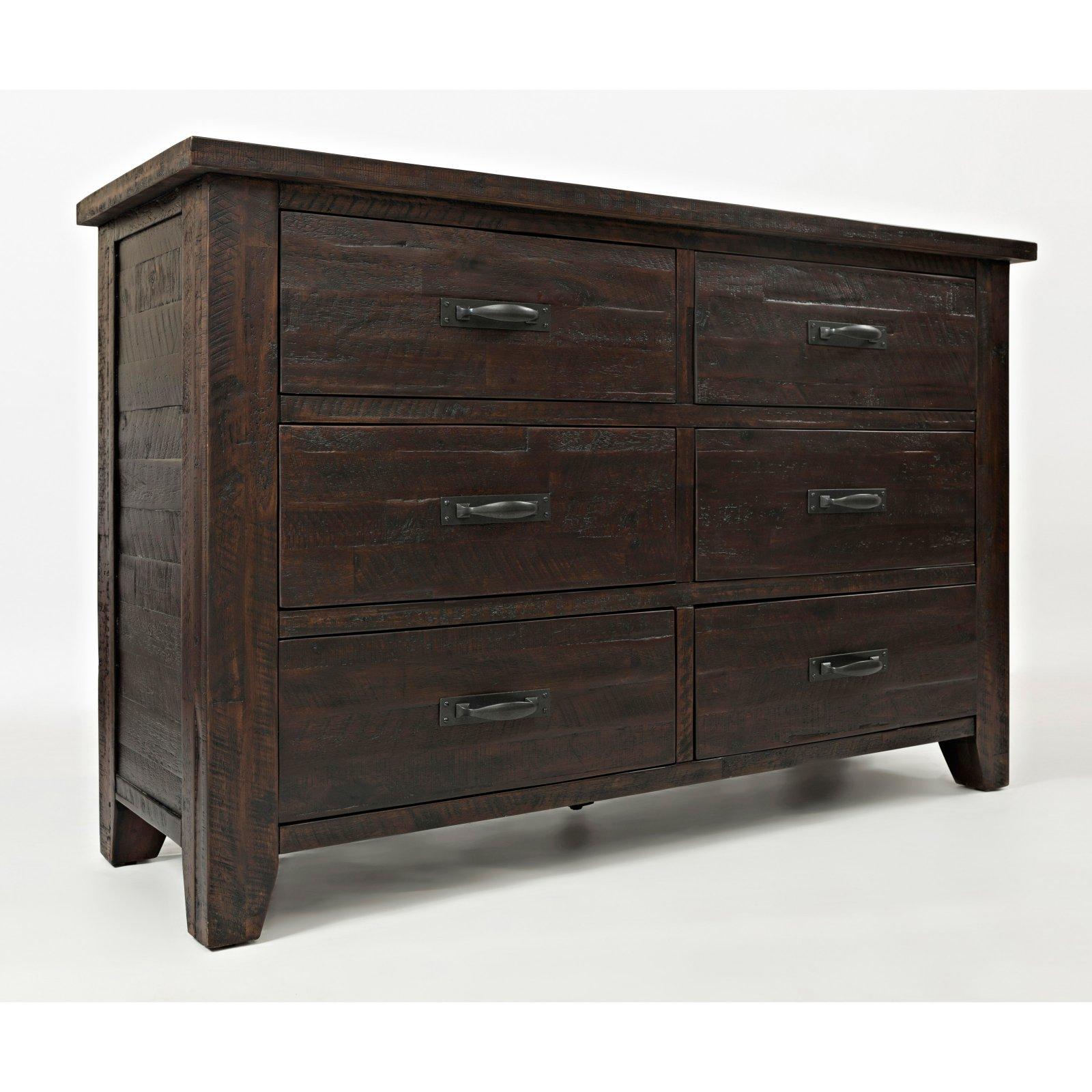 Jofran Jackson Lodge 6 Drawer Dresser