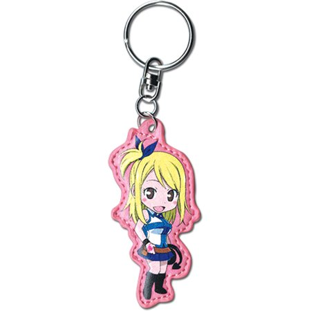 Key Chain - Fairy Tail - New SD Lucy PU Toys UPC Licensed ge37351 (Fairy Kei)